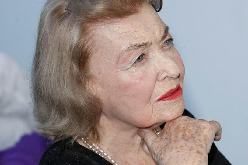 Nina Andrycz przez lata ukrywała swój prawdziwy wiek. /Engelbecht /AKPA