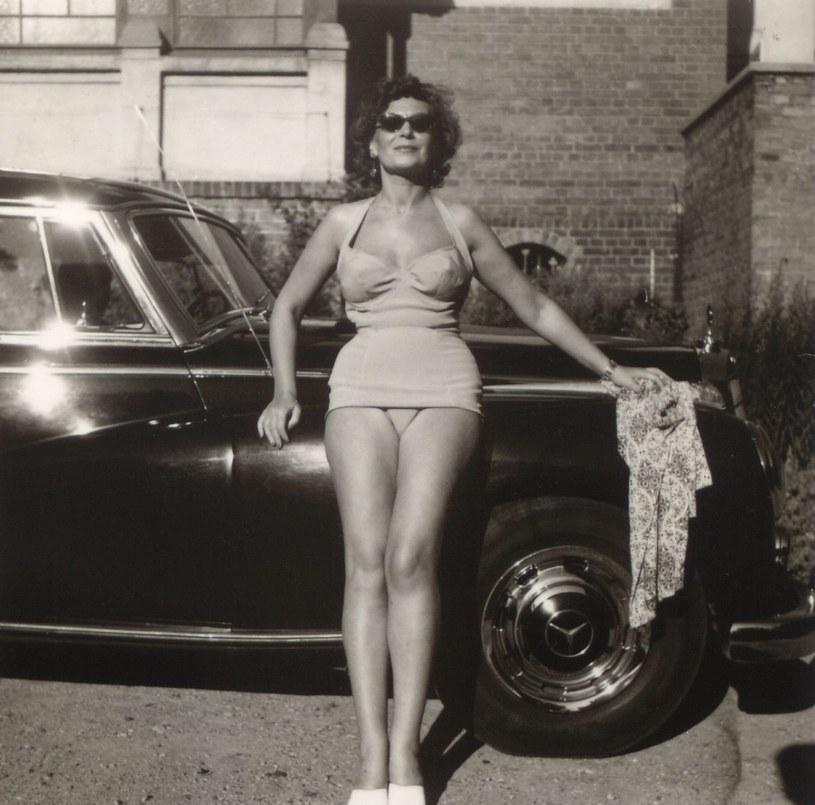 Nina Andrycz w latach 60. XX wieku podczas wakacji w Sopocie /Muzeum Sopotu /East News