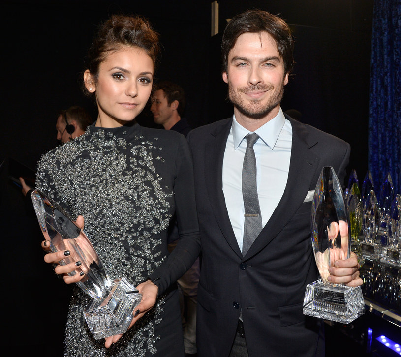 Nina Dobrev, Ian Somerhalder /Frazer Harrison /Getty Images