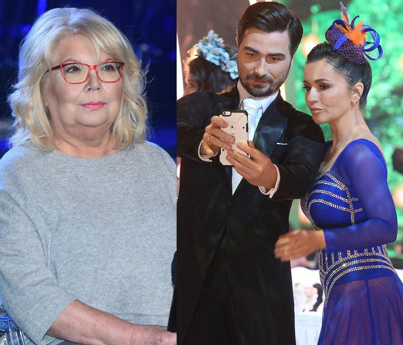 Nina Terentiew trzyma kciuki za Beatę Tadlę, fot. Jarosław Antoniak /Jarosław Antoniak /MWMedia