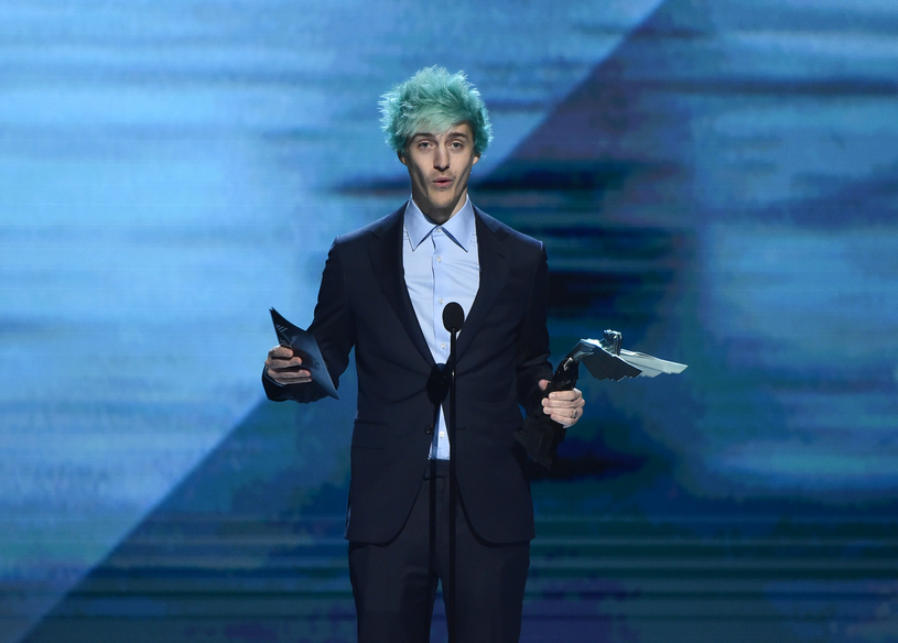 Ninja podczas rozdania nagród Gaming Awards 2018 w Los Angeles /AFP