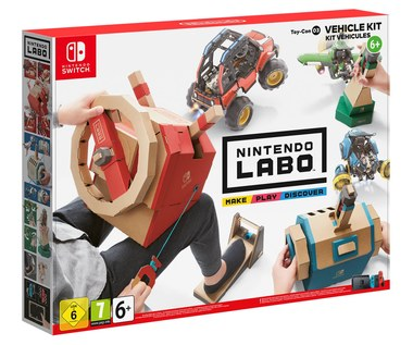 Nintendo Labo Toy-Con 03: Vehicle Kit już w sprzedaży