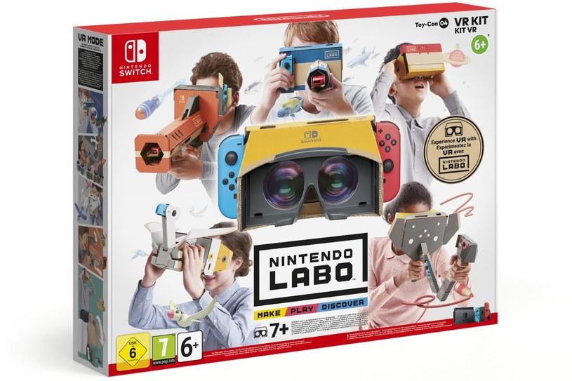Nintendo Labo /materiały prasowe