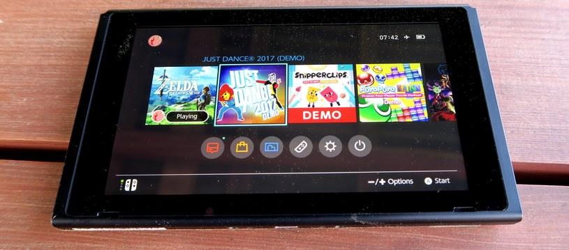 Nintendo Switch na tym etapie nie ma polskiego menu. Podobnie jak gier w języku polskim /INTERIA.PL