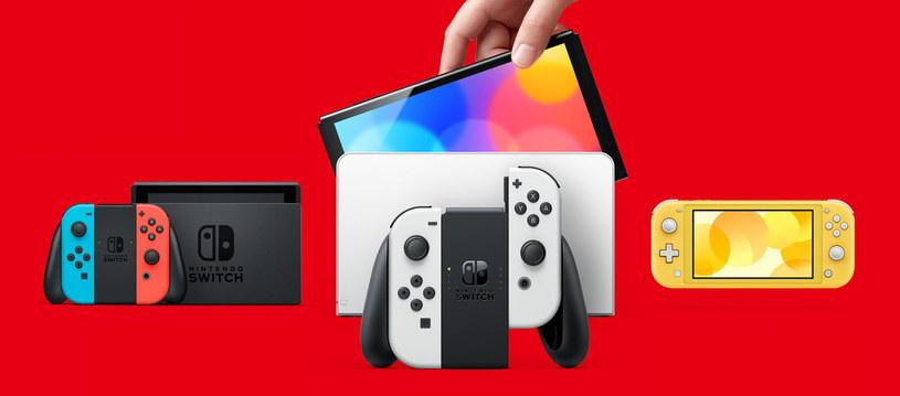 Nintendo Switch OLED /materiały prasowe