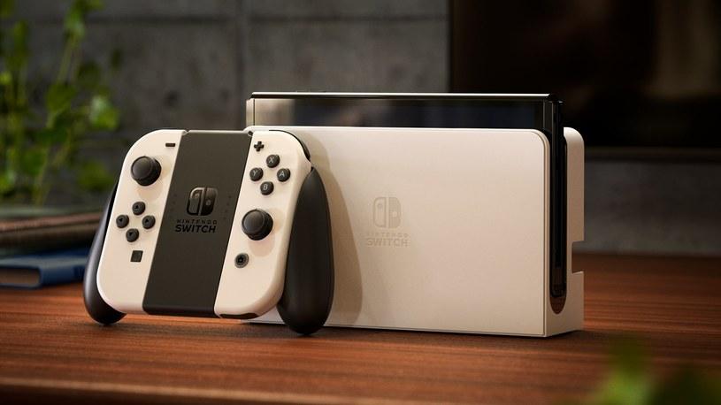 Nintendo Swtich (OLED) /materiały prasowe