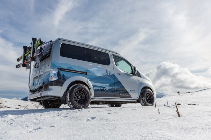 Nissan e NV200 Winter Camper /