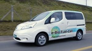 Nissan e-NV200 z ogniwami paliwowymi na bioetanol