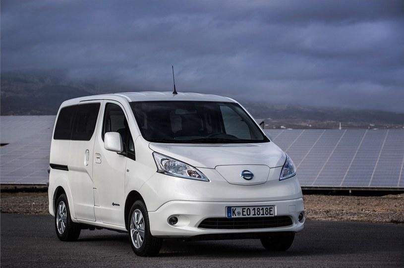 Nissan e-NV200 /materiały prasowe