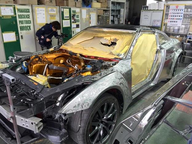 "Nissan GT-R ""na bogato"" /"