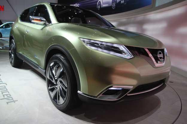 Nissan hi-cross. Czy taki będzie nowy qashqai? /INTERIA.PL