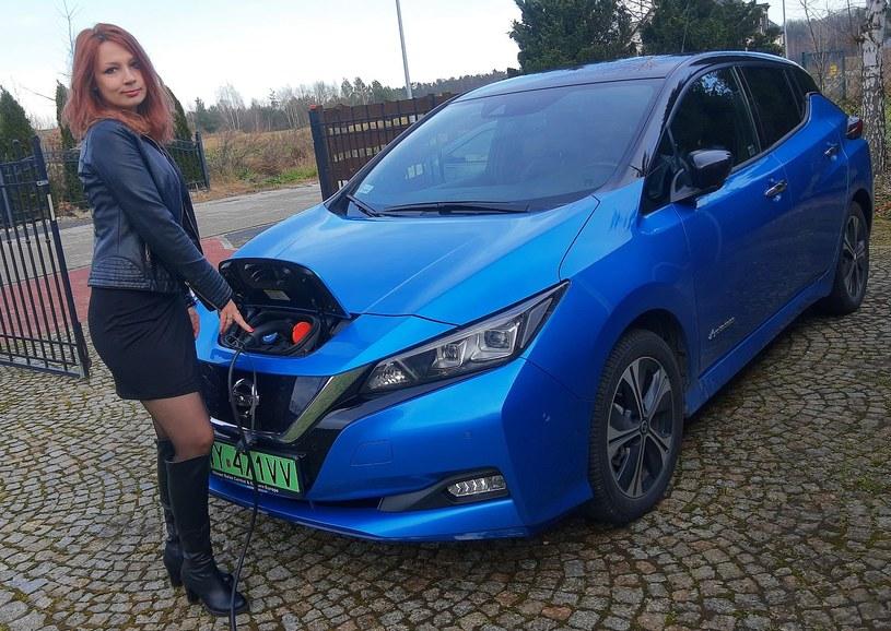 Nissan Leaf kobiecym okiem /INTERIA.PL
