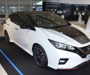 Nissan Leaf w nowych wersjach