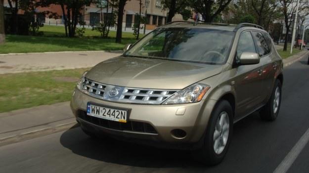 Nissan Murano pojawił się na długo przed popularnym Qashqaiem. /Motor