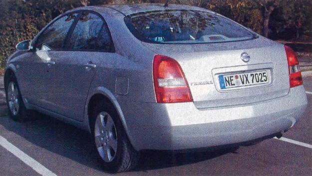 nissan primera /Motor
