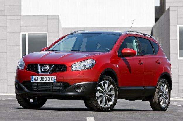 Nissan qashqai to chętnie kupowany samochód /