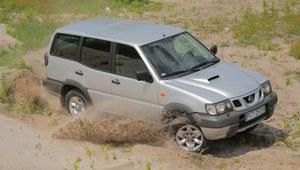 Nissan Terrano II - komfort nie jest jego mocną stroną