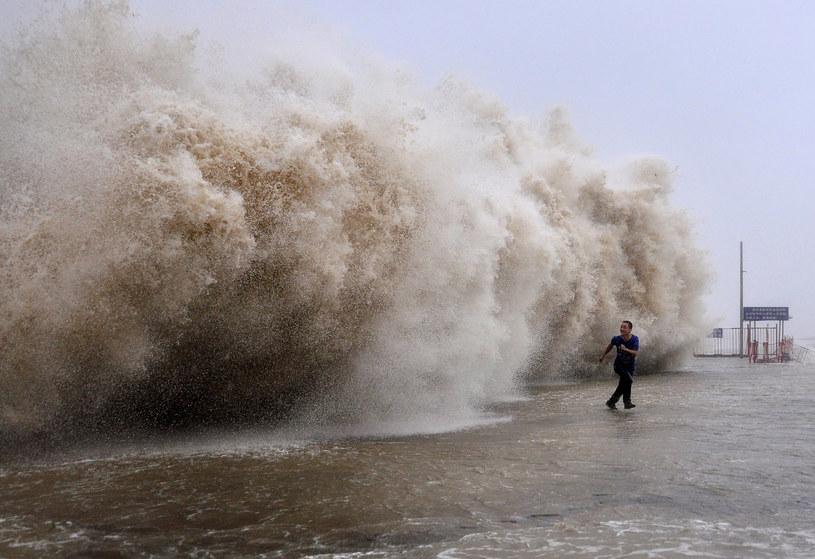 Niszczycielski tajfun nawidził Chiny /AFP