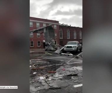 Niszczycielskie tornado w Alabamie. Straty są ogromne