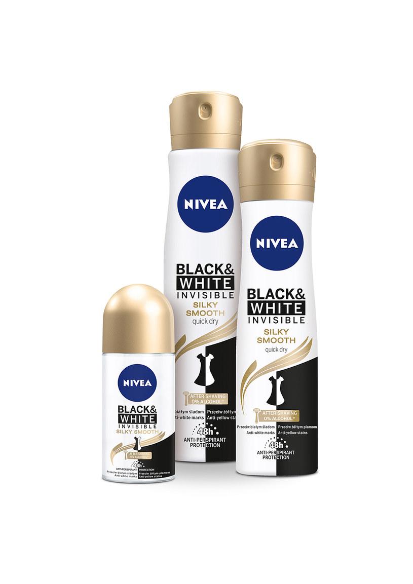 Nivea Black7White Silky Smooth /materiały prasowe