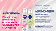 NIVEA Care Shower Silk mousse