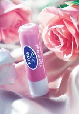 NIVEA Lip Care Velvet Rose /materiały prasowe