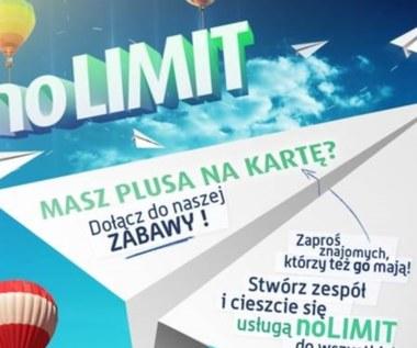 No Limit w Plus na Kartę dla przyjaciół z Facebooka