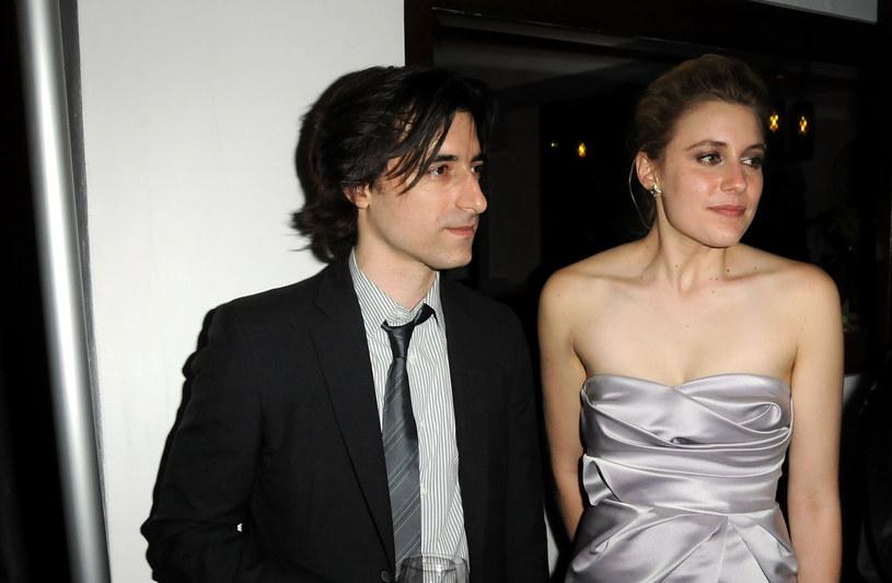 """Noah Baumbach i Greta Gerwig na przyjęciu po premierze filmu """"Greenberg"""" w 2011 roku /Jeff Kravitz/FilmMagic /Getty Images"""