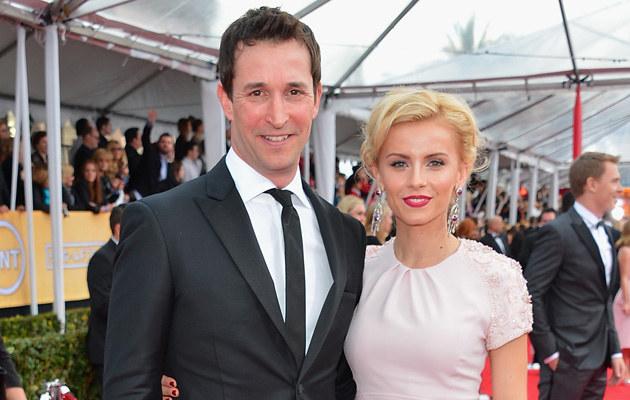Noah Wyle z żoną /Alberto E. Rodriguez /Getty Images