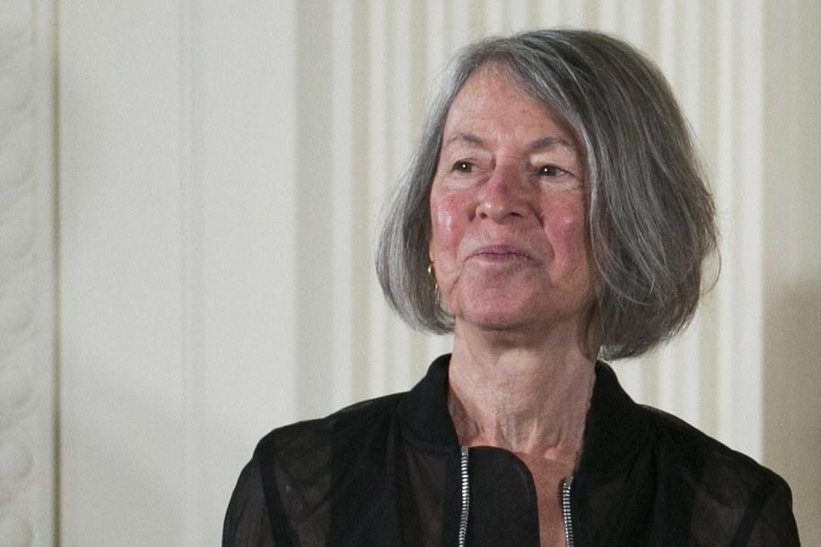 Nobel dla Louise Glück /SHAWN THEW    /PAP/EPA
