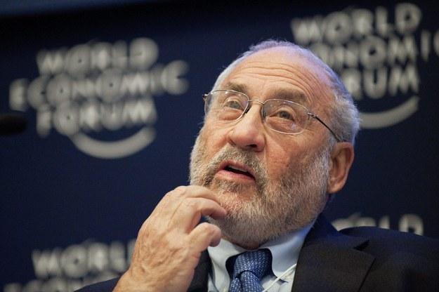 Noblista Joseph Stiglitz /Keystone /PAP/APA