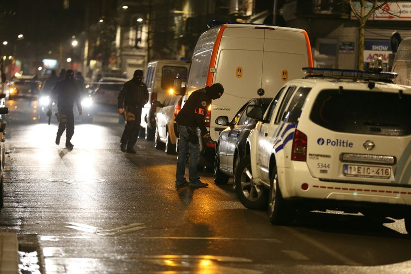 Nocna akcja antyterrorystów /AFP
