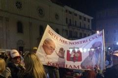 Nocne czuwanie w Rzymie