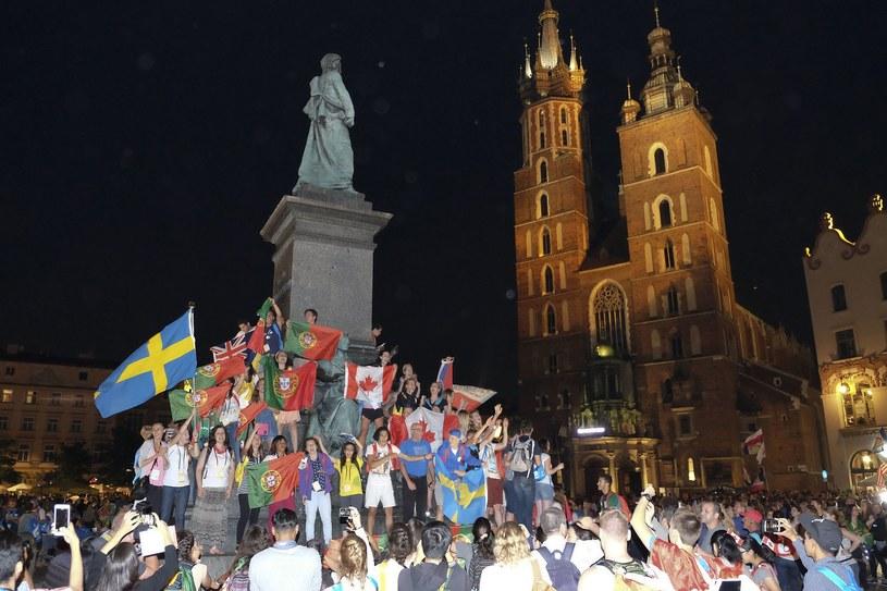 Nocne szaleństwo w Krakowie /Paweł Krawczyk /INTERIA.PL