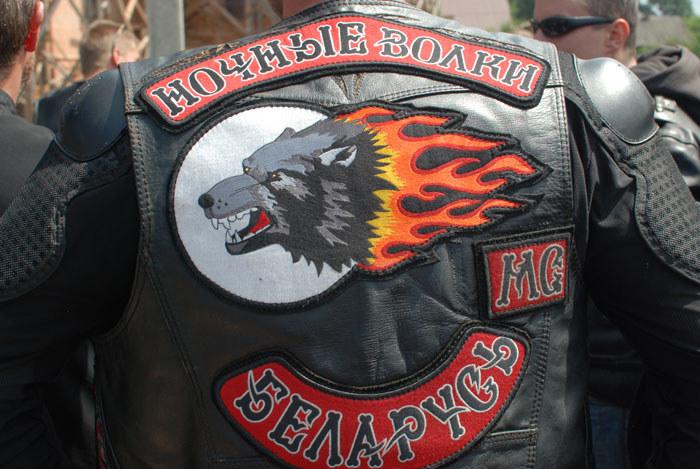 """""""Nocne Wilki"""" są największym gangiem motocyklowym w Rosji. Mają też oddziały w niektórych państwach Europy. Tutaj: członek z Białorusi /INTERIA.PL/materiały prasowe"""