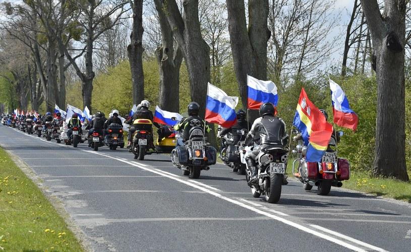 Nocne Wilki w drodze do Berlina /PIOTR PLACZKOWSKI/REPORTER /East News
