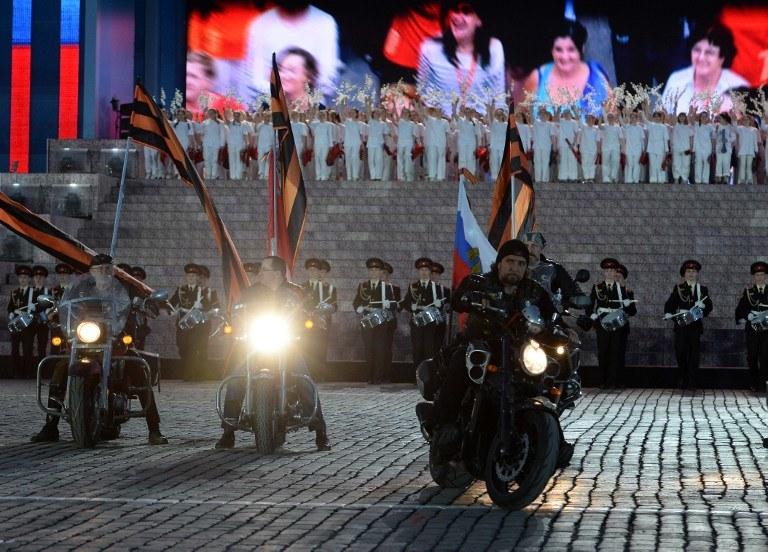 Nocne Wilki; zdj. ilustracyjne /VASILY MAXIMOV / AFP /AFP