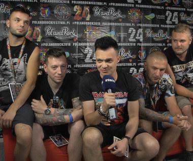 Nocny Kochanek na Pol'And'Rock Festival 2018: Zobacz wywiad z zespołem