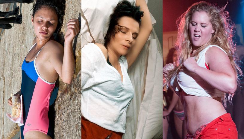 """Noée Abita w filmie """"Ava"""" (L), Juliette Binoche w """"Isabelle i mężczyznach"""" (C) oraz Amy Schumer w filmie """"Jestem taka piękna!"""" (P) /materiały dystrybutora"""