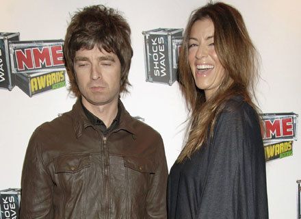 Noel Gallagher i Sara MacDonald - fot. Dave M. Benett /Getty Images/Flash Press Media