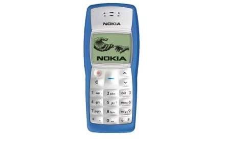 Nokia 1100 - za niektóre modele przestępcy zapłacą fortunę /materiały prasowe