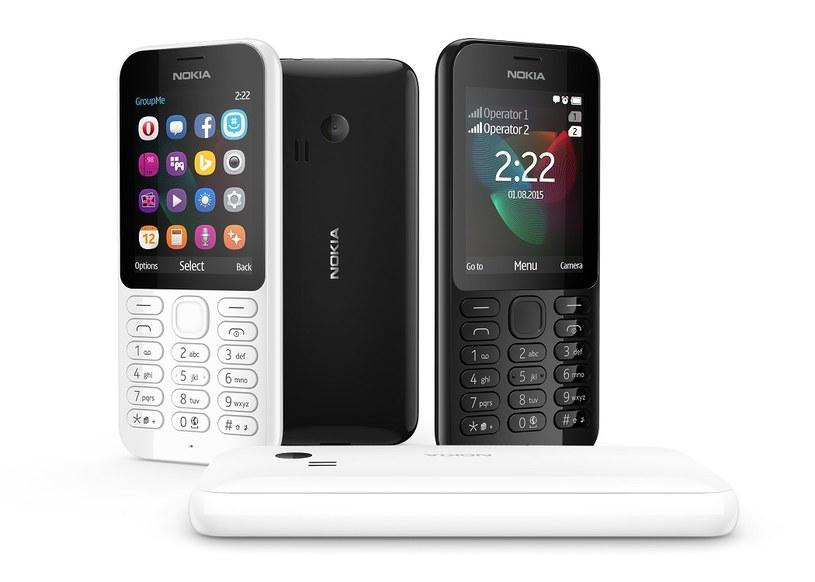 Nokia 222 Dual SIM /materiały prasowe