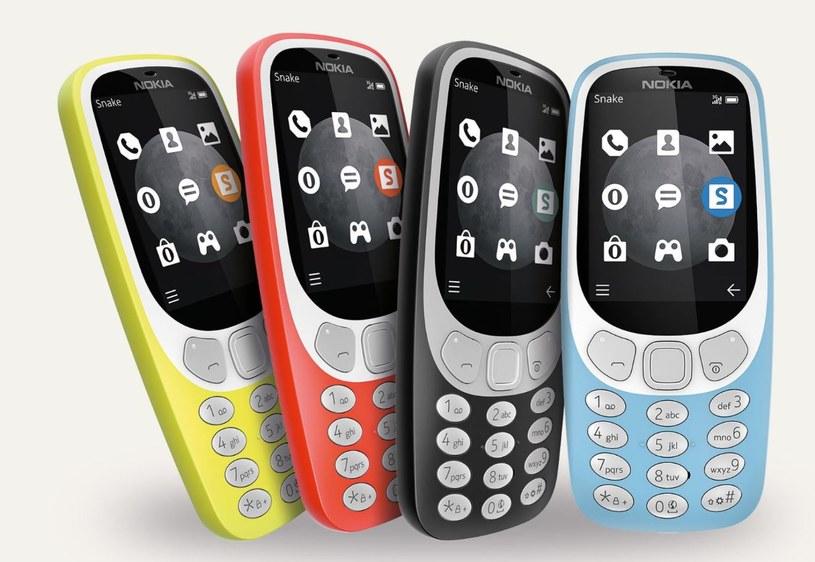 Nokia 3310 3G posiada kilka drobnych poprawek /materiały prasowe