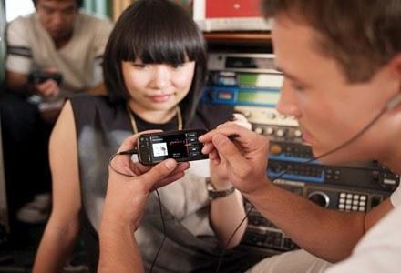 Nokia 5800 XpressMusic ma być konkurencją dla iPhone'a firmy Apple /materiały prasowe