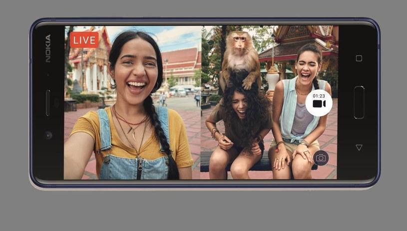 Nokia 8 - funkcja #Bothie /materiały prasowe