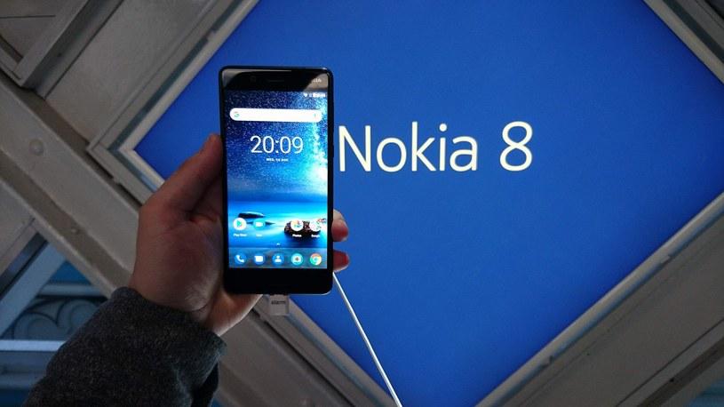 Nokia 8 - londyńska premiera /INTERIA.PL