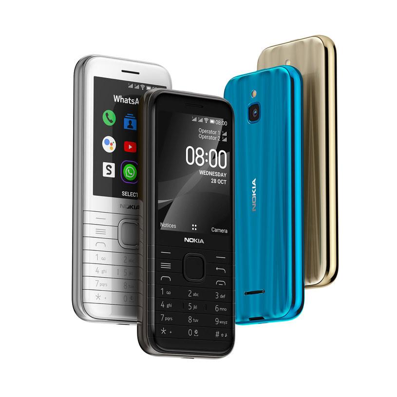 Nokia 8000 4G /materiały prasowe