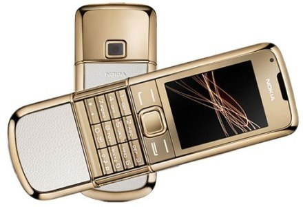 Nokia 8800 Gold Arte /materiały prasowe
