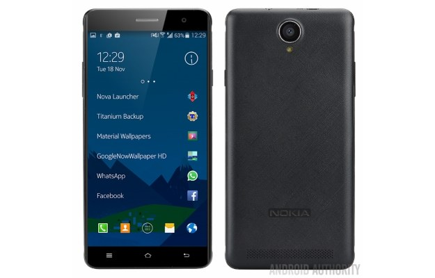 Nokia A1. Fot. Android Authority /materiały prasowe