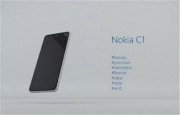 Nokia C1.   Fot. tech.163.com /materiały prasowe